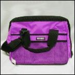 Groomers Kit Bag from Woofer Wares - Available in Magenta and Black. Size: 33 cm L x 21 cm W x 27 cm H