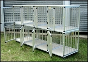 Downunder Dogs Made-to-Order Aluminium Cages, Queensland